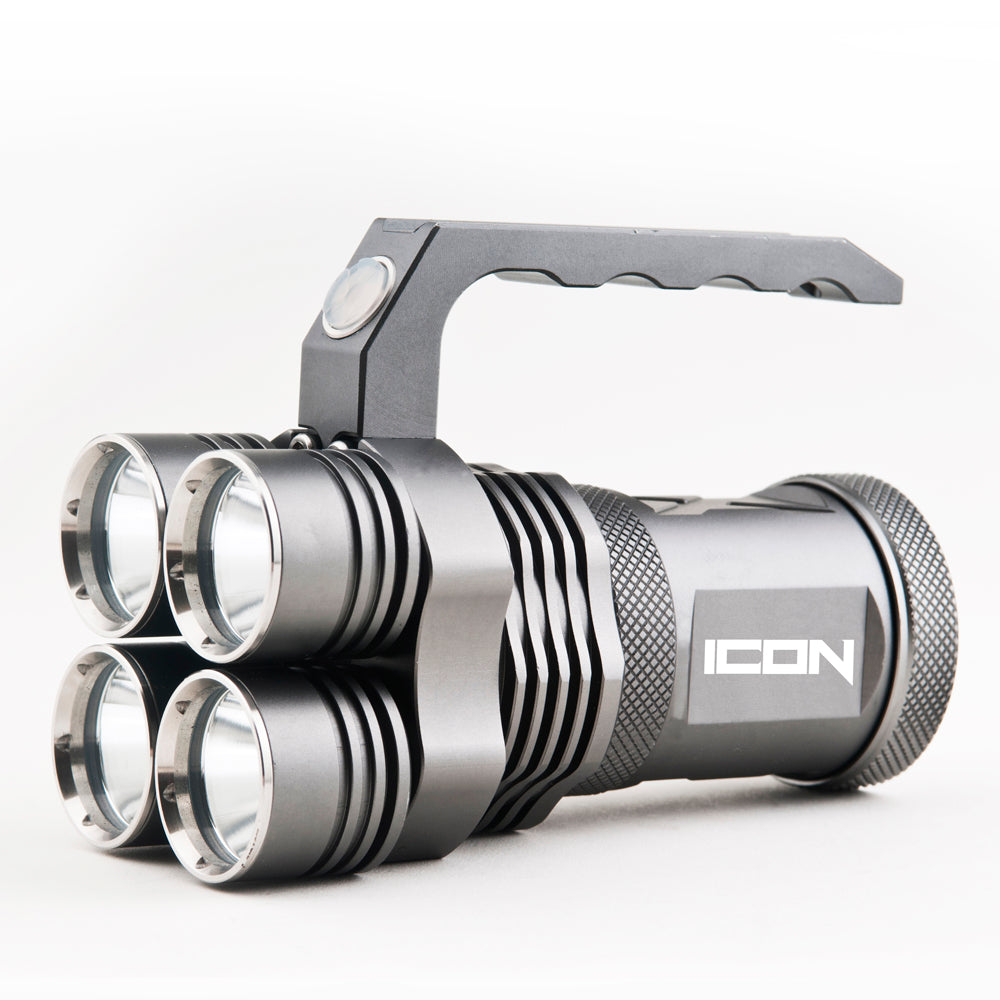 Icon - 3000 Lumens - Tactical Flashlight