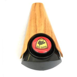 Woodgrain Door Stop Wedge Alarm