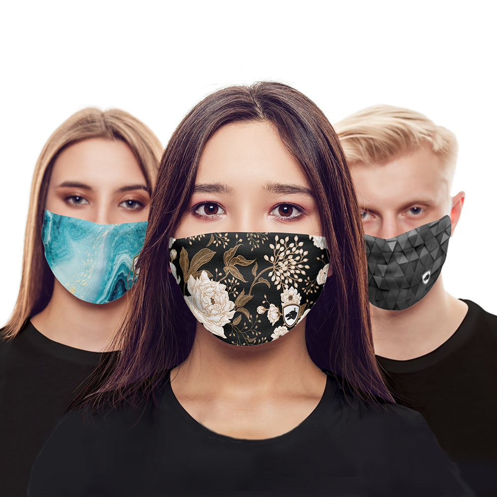 Fabric Face Masks - Patterns