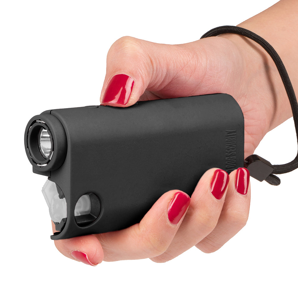 3-in-1 Pepper Spray, Stun Gun & Flashlight Combo - Olympian