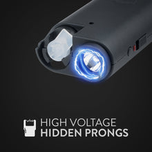 Load image into Gallery viewer, 3-in-1 Pepper Spray, Stun Gun & Flashlight Combo - Olympian