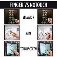 Load image into Gallery viewer, NoTouch Keychain Antimicrobial Handtool - 2 Packs