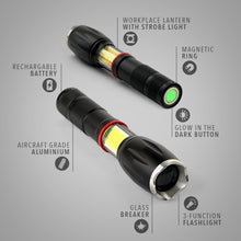 Load image into Gallery viewer, Tactical Flashlight - 600 Lumens - TactForce