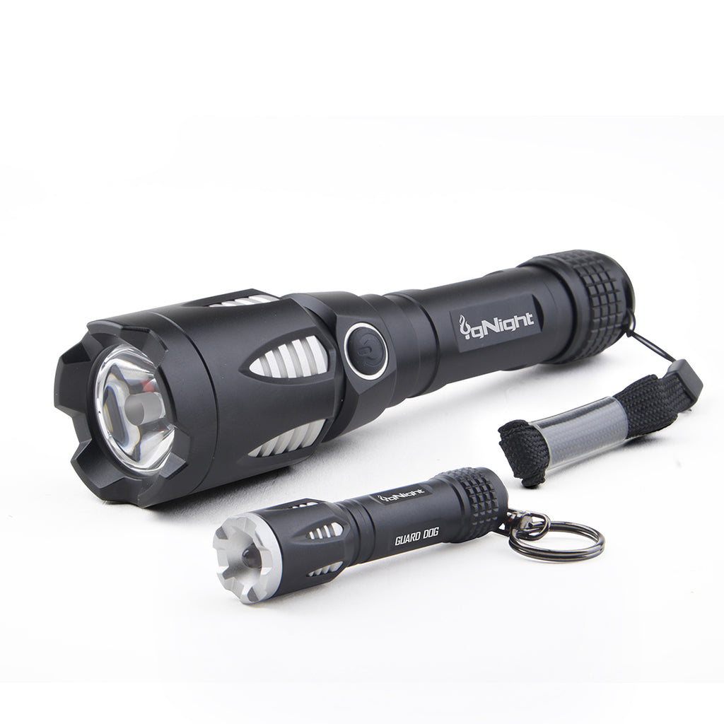 igNight Take it/Leave it - 820 Lumens - Tactical Flashlight Set