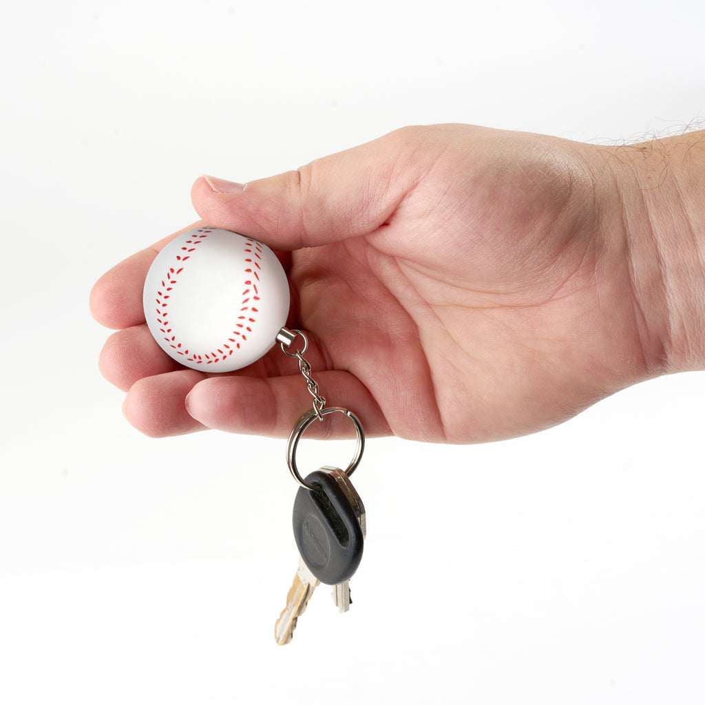 Sports Keychain Alarm - Baseball