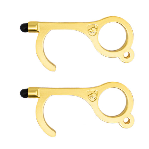 NoTouch Keychain Antimicrobial Handtool - 2 Packs