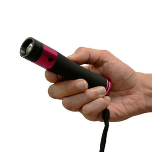 Stun Gun Flashlight With 200 Lumens - Ivy