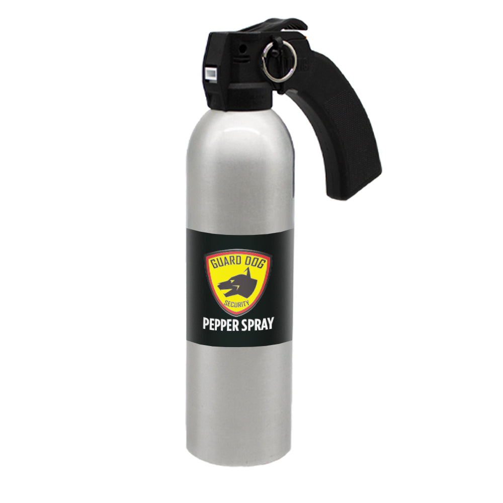 Large Pepper Spray canister w/ Pistol Grip - 24 oz