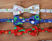 Load image into Gallery viewer, Christmas Holiday Bow Ties for Men and Boys
