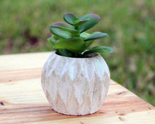 Load image into Gallery viewer, Diamond Design Mini Planter / Pot