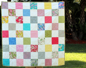 Dogwood Girls Patchwork Quilt