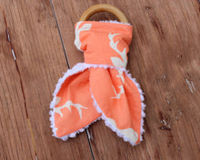 Load image into Gallery viewer, Orange Fox and Stag Infant Bunny Teethers