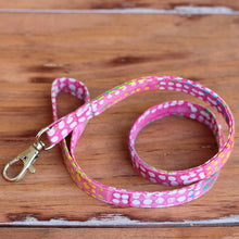 Load image into Gallery viewer, Pink Batik Lanyard
