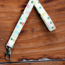 Load image into Gallery viewer, Preppy Pineapple Lanyard