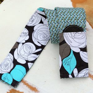Floral Reversible Camera Strap Cover