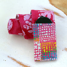 Load image into Gallery viewer, Pink and More Batik Camera Strap Cover
