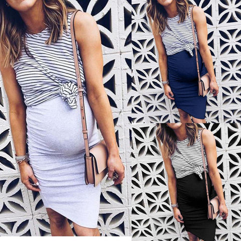 Two Piece Pregnancy Dress