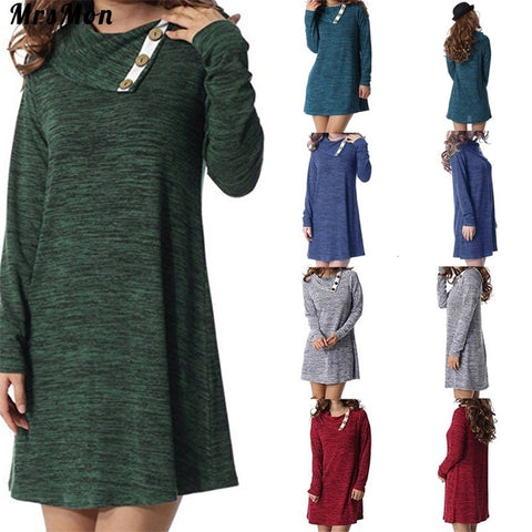 Long-Sleeved Maternity Dress