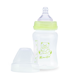 Wide Neck Feeding Bottle - Deluxe