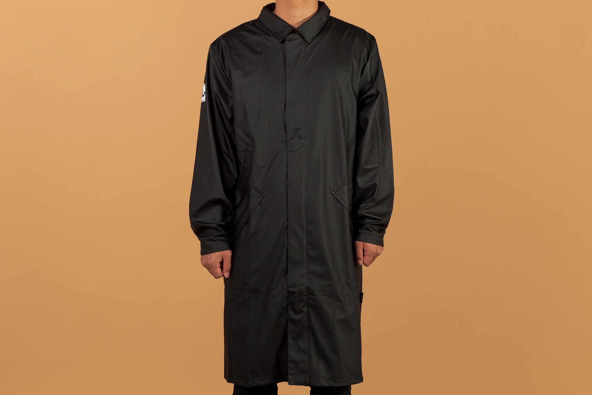 Highsnobiety x RAINS Mac Coat
