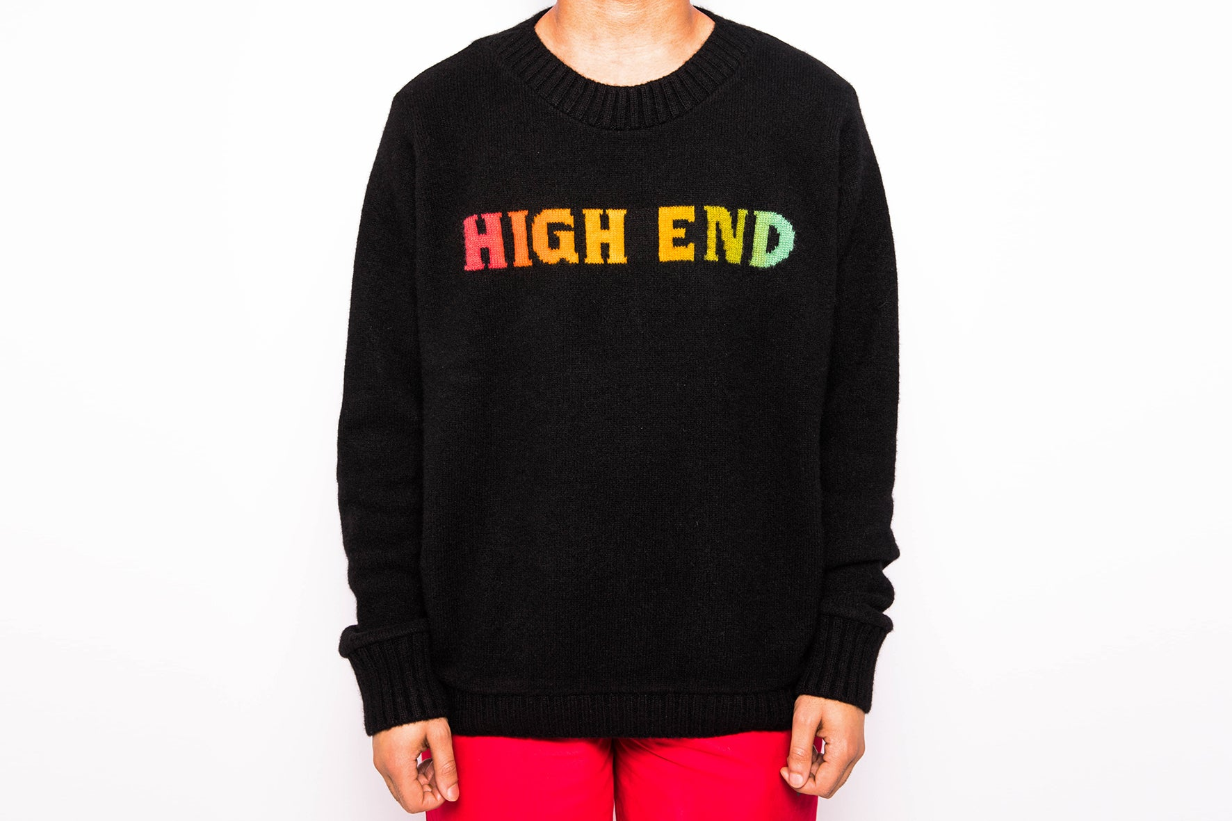Elder Statesman x Highsnobiety High End Sweater