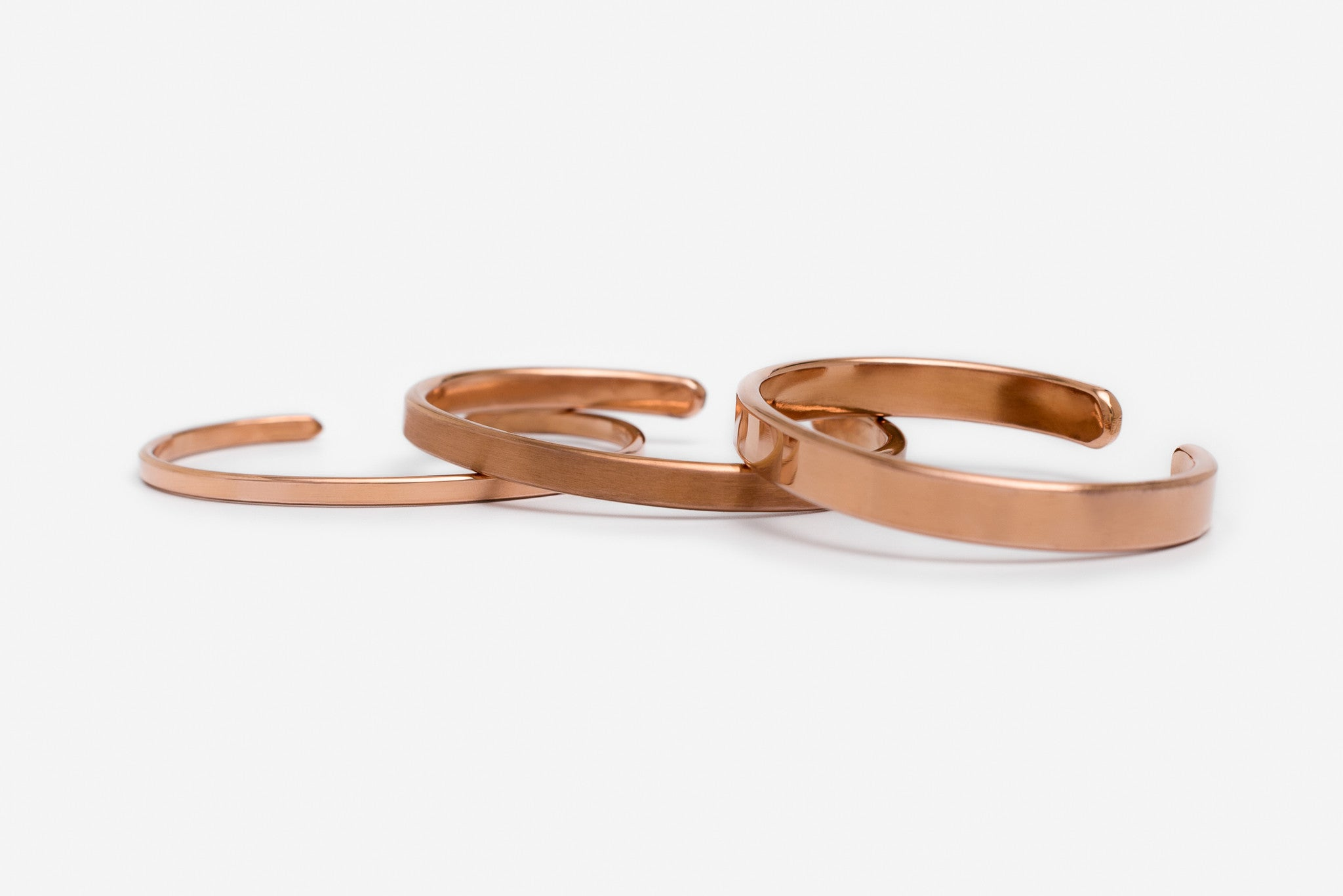 Copper Bracelet - 7mm - Polished