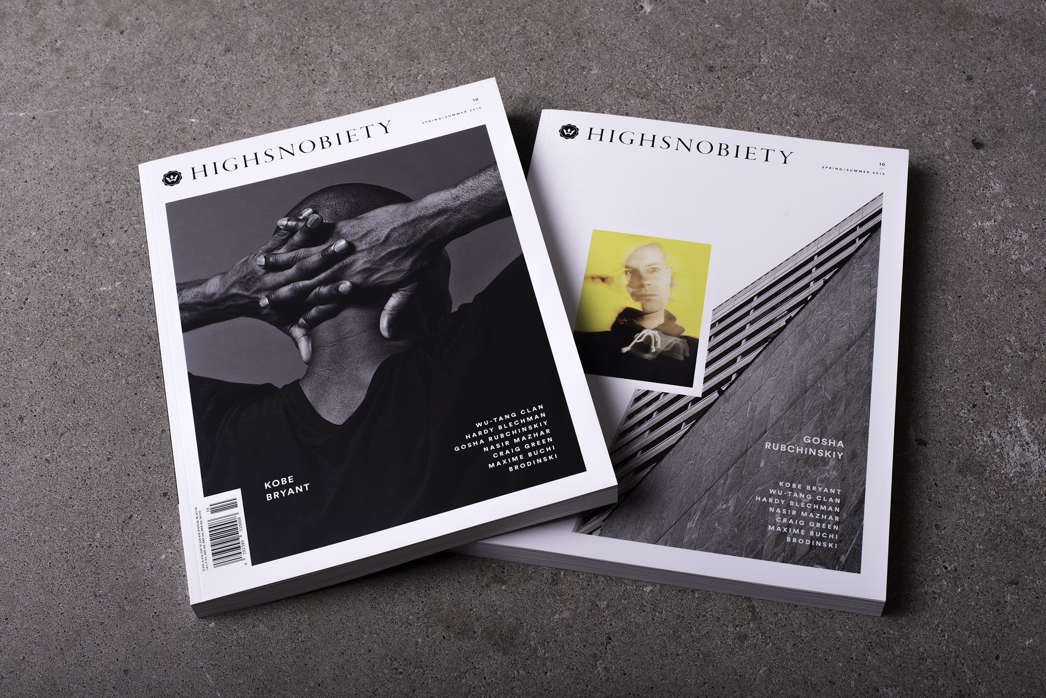 Highsnobiety Magazine Issue 10 - Kobe Bryant