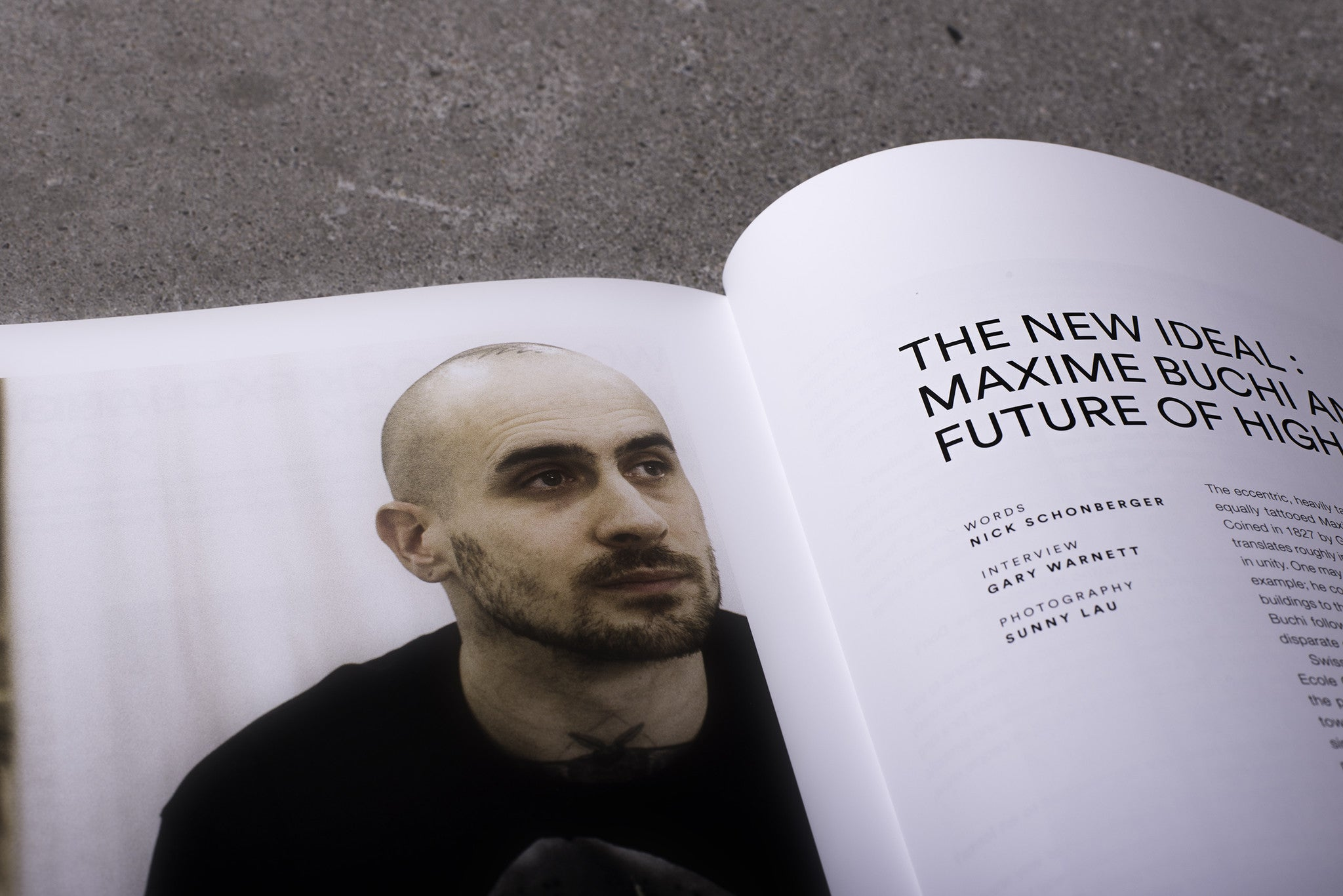 Highsnobiety Magazine Issue 10 - Gosha Rubchinskiy