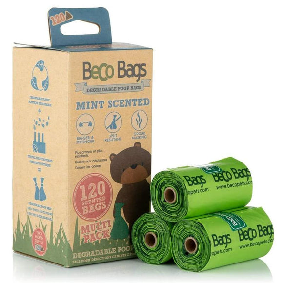 Eco-friendly Biodegradable Scented, Handled and Drawstring Rubbish Bag Options - SW Coast Refills