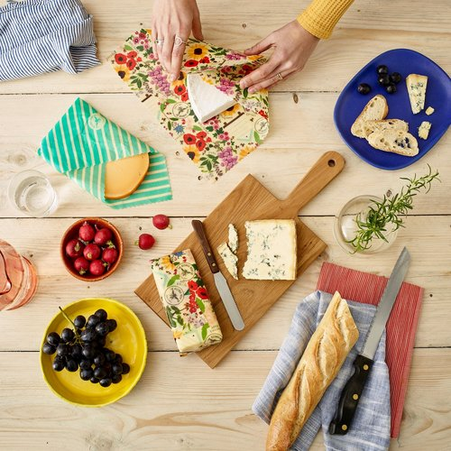 Vegan Soy Based Wraps, Beeswax Wraps, Picnic Bags, Sandwich Wraps & Vegan Leather Butty Bags - SW Coast Refills