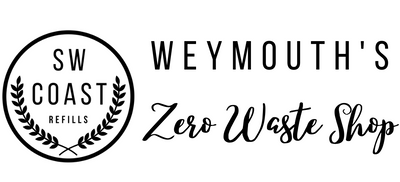 SW Coast Refills Weymouth's Zero Waste Shop. Dorset Shopping for Eco-Friendly Products, Loose Wholefoods, Liquid Refills and Planet Friendly Household Cleaning Items. Local Products, Handmade Gifts and Ethically Sourced Local Souvenirs.