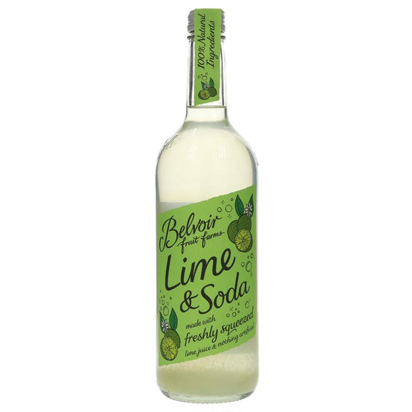 Belvoir Lime & Soda Pressé - 750ml - SW Coast Refills