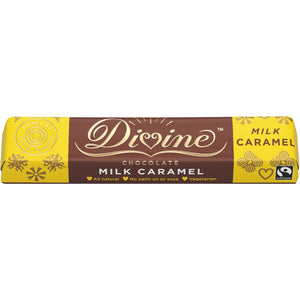 Divine Caramel Milk Chocolate Chunky - Small Bar 35g - SW Coast Refills