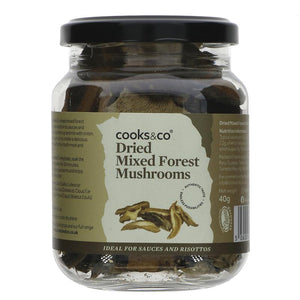 Cooks & Co Mixed Forest Mushrooms - 40g - SW Coast Refills