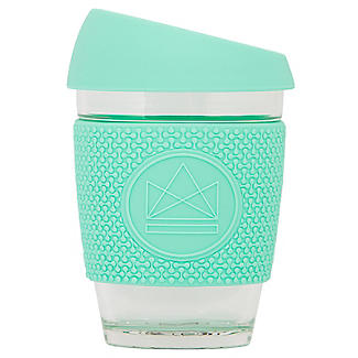 Neon Kactus Mint Glass Coffee Cup - SW Coast Refills
