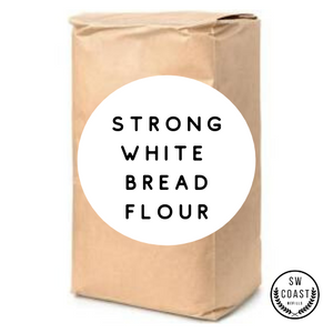 Strong White Bread Flour - 1Kg - SW Coast Refills
