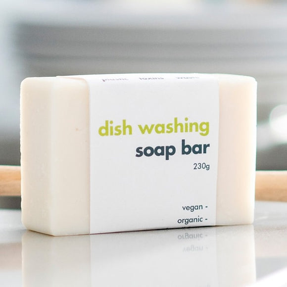 Dish Washing Soap Bar - Unfragranced - SW Coast Refills