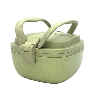 Huski Rice Husk Lunch Box with Carry Handles - SW Coast Refills
