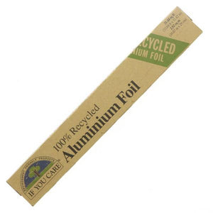 100% Recycled Aluminium Foil - If You Care - SW Coast Refills