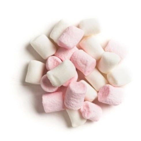 Mini Pink & White Vanilla Marshmallows - 50g - SW Coast Refills