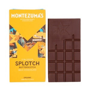 Montezuma*s Splotch Milk Chocolate with Butterscotch - 90g - SW Coast Refills