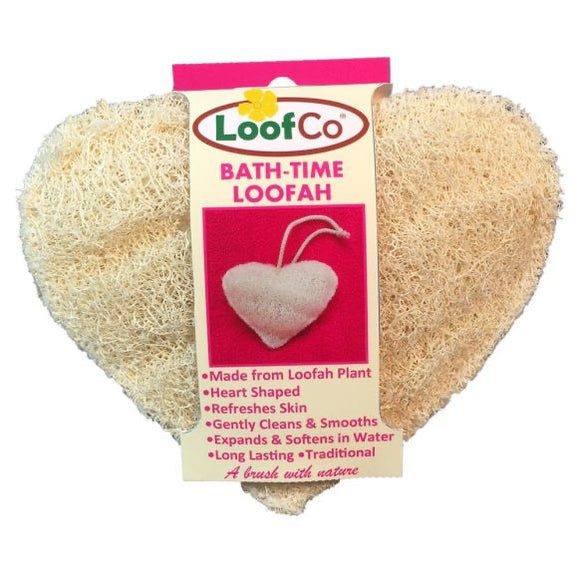 Heart Shaped Loofah - LoofCo. - SW Coast Refills