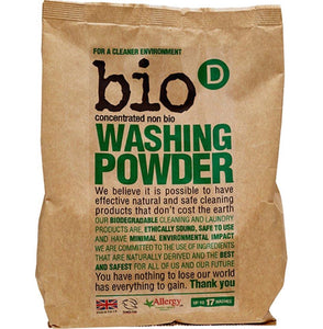 Bio D Washing Laundry Powder Concentrated - 1Kg - SW Coast Refills