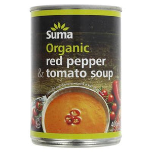 Multibuy 2 x Suma Red Pepper & Tomato Soup - 400g - SW Coast Refills