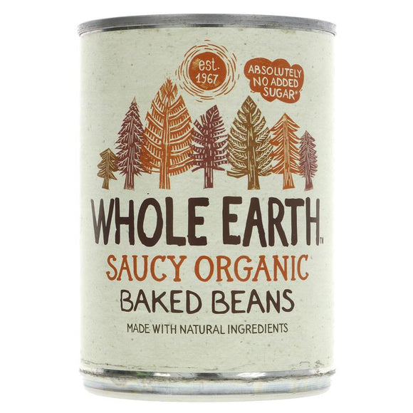 Multibuy 4 x Whole Earth Organic Baked Beans - 400g - SW Coast Refills