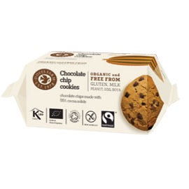 Doves Farm Chocolate Chip Cookies - 180g - SW Coast Refills