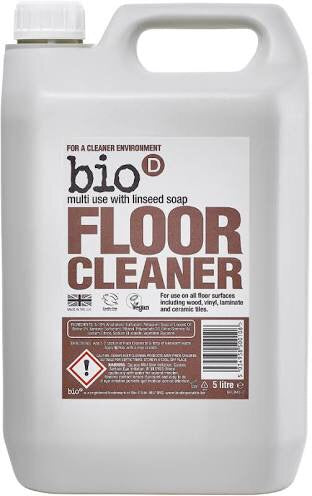 Bio-D Floor Cleaner with Linseed Soap Refill - SW Coast Refills