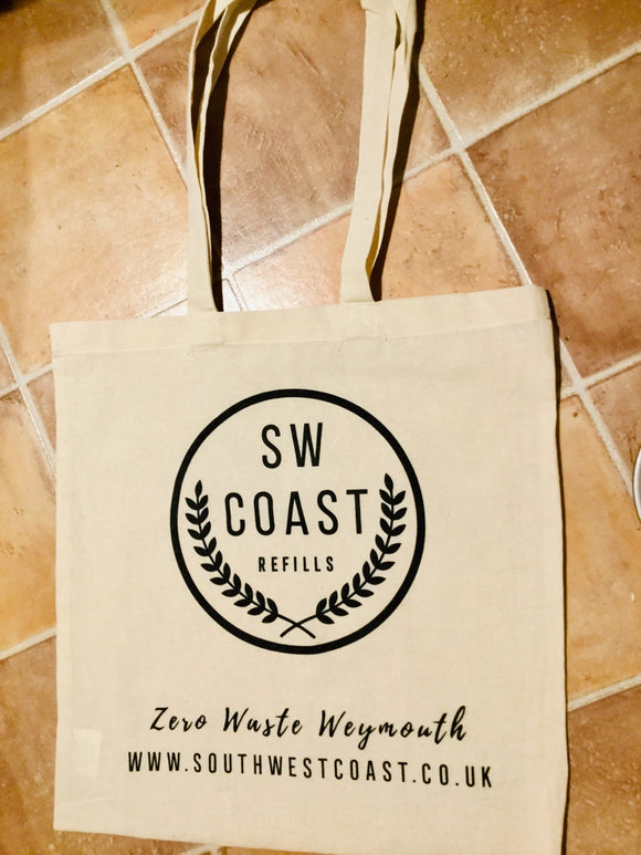 SW Coast Branded Canvas Shopper Bag - SW Coast Refills
