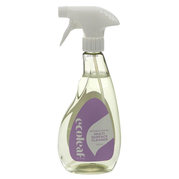 Ecoleaf Antibacterial Multi Surface Cleaner - 500ml - SW Coast Refills