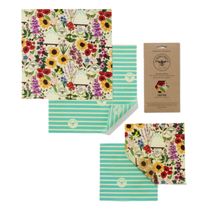 Beeswax Wraps Lunch Pack - The Beeswax Wrap Co. - SW Coast Refills